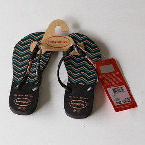 Havaianas Toddler Kid's Slim Zig Zag Sandal 11-12C